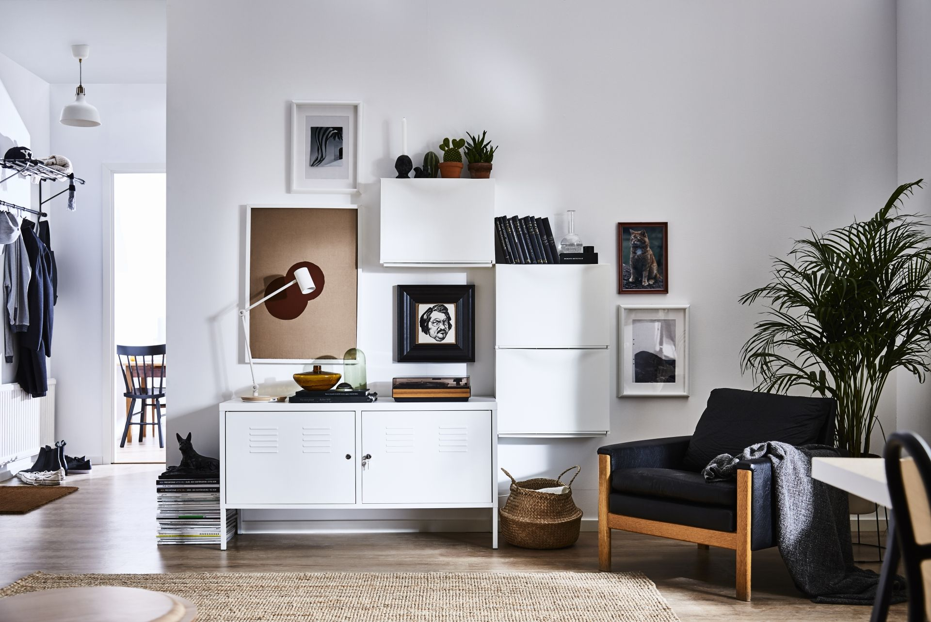 IKEA PS Kast, wit