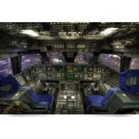 Space Shuttle Cockpit Wall Mural   Google Search