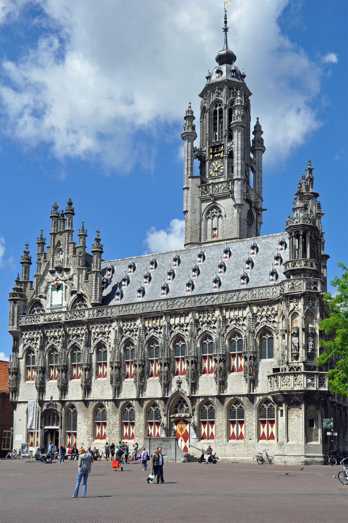 Middelburg Zeeland Stadhuis City hall Rathaus Mairie