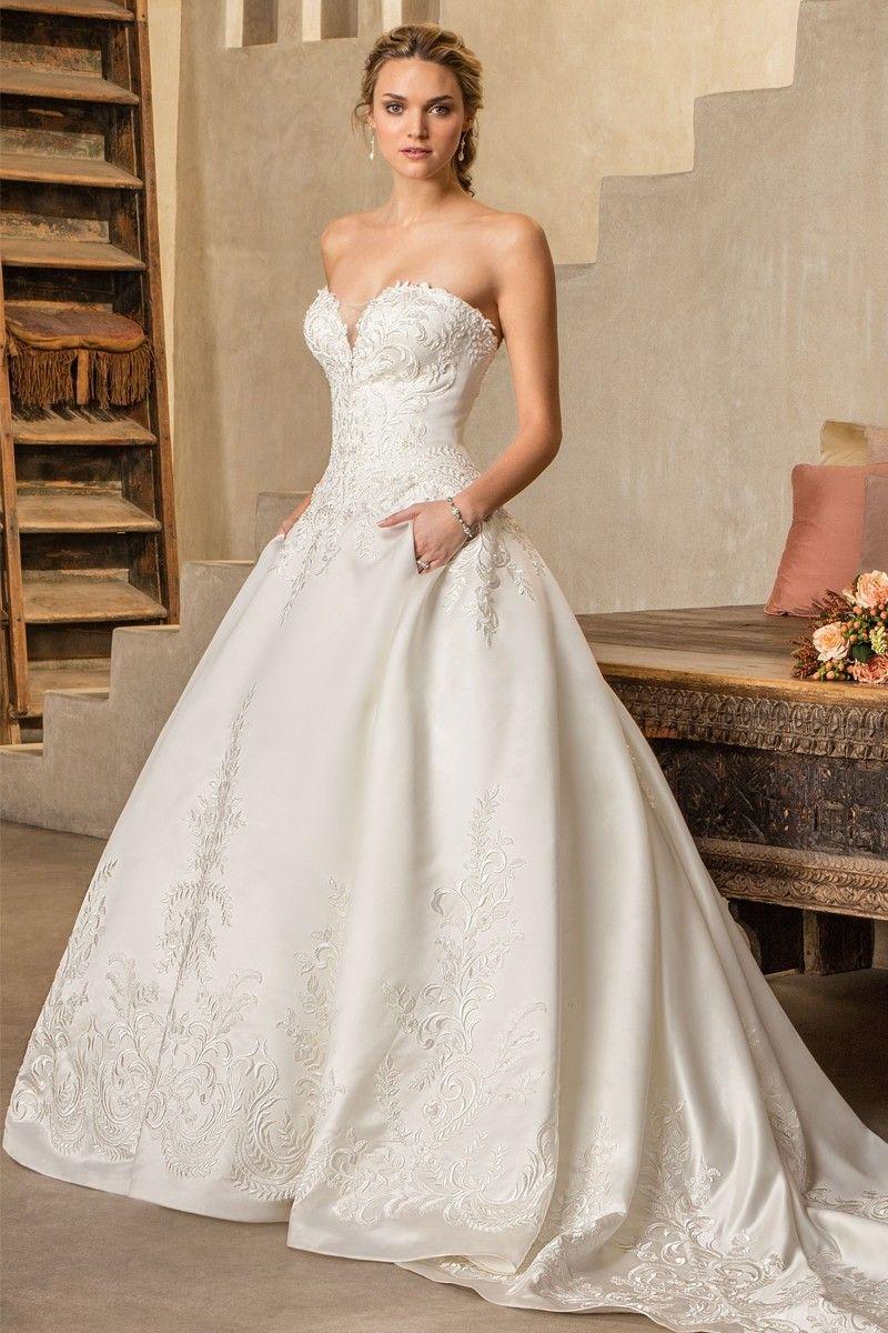 2303 Oleander Casablanca Bridal in 2020 Wedding gown