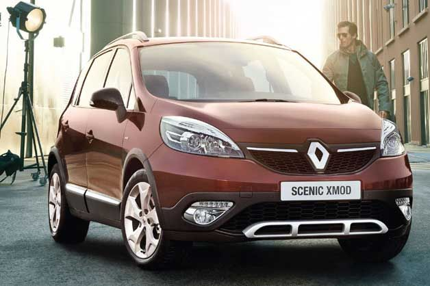 Renault Scenic Minivan Crosses Over With New Xmod Variant