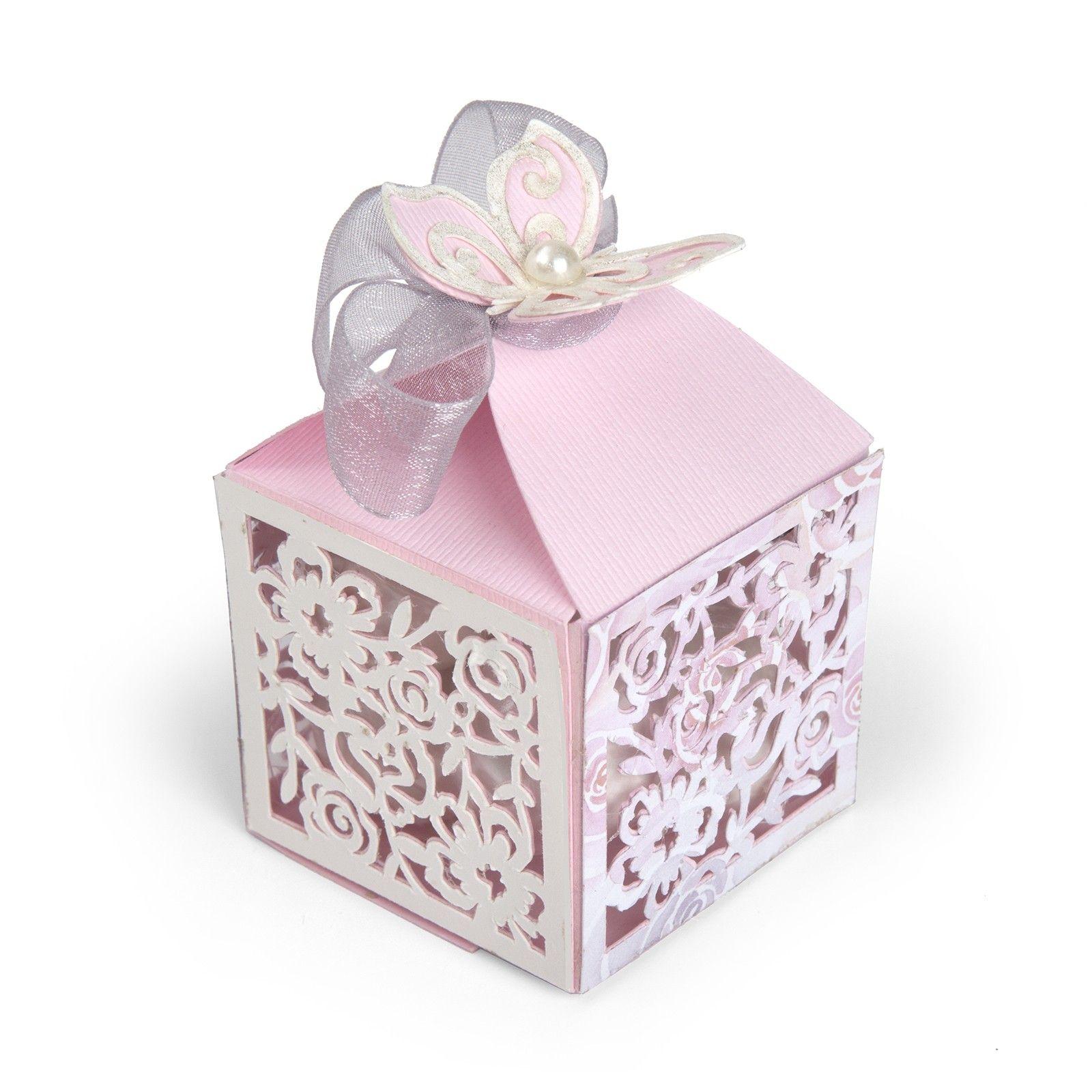 Sizzix Thinlits Die Set Butterfly Favor Box Catalog Cum Sa