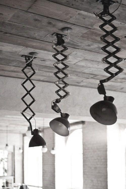 Industrial Lighting Vintage Industrial Lighting Industrial Interiors Reclaimed Wood Ceiling