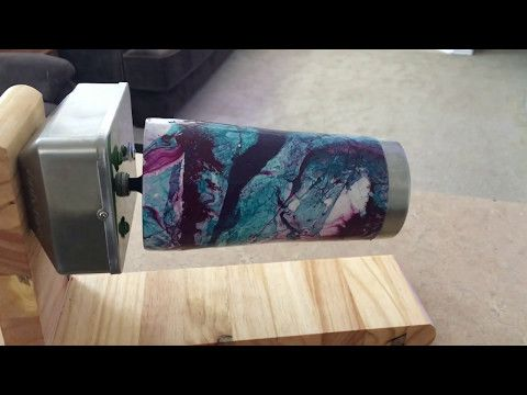 Diy Rotisserie Epoxy Resin Tumbler Stand Youtube Diy