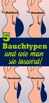 5 Arten von Bauch und wie man sie loswird   - Gesundheit und fitness -   #Arten #Bauch #Fitness #Ges...