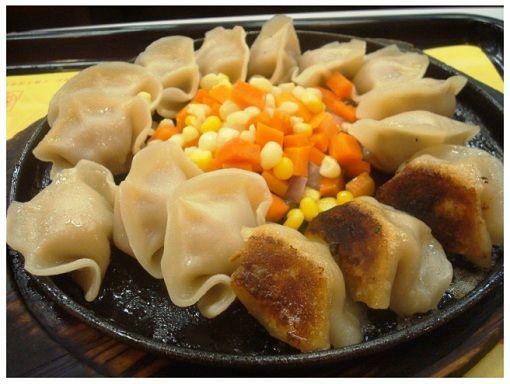 Chinese Fast Food Hunan Iron Plate Fried Dumpling Chinese Fast