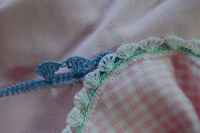 Miss Carole's Crocheted Baby Blankets