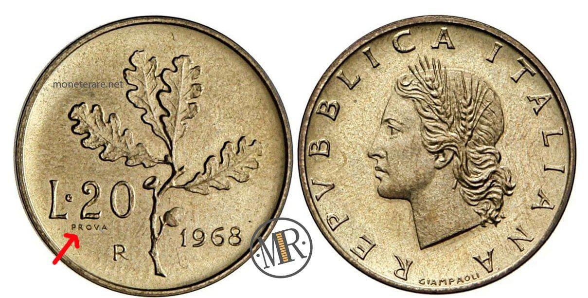 20 Lire Valore Quotazione E Info Sulle 20 Lire Rare Del 1958