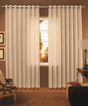 como hacer cortinas modernas para sala. 300×361 píxeles
