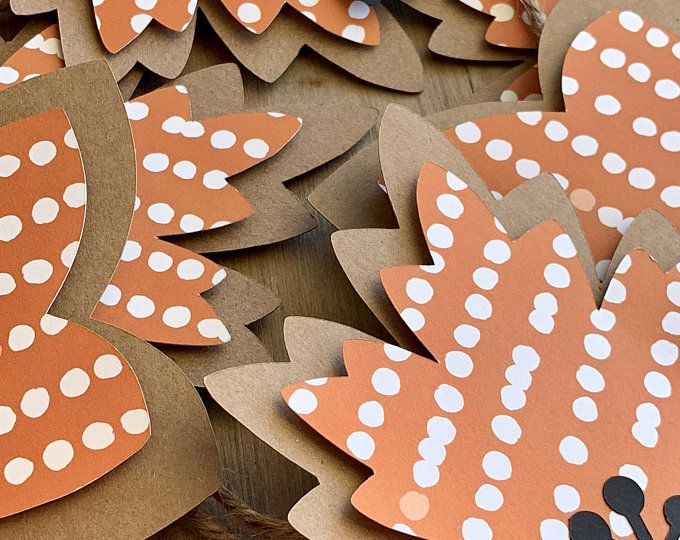 Halloween Garland, BOO Banner, Halloween Party Decor, Fall Decoration, Candy Corn #leafgarland