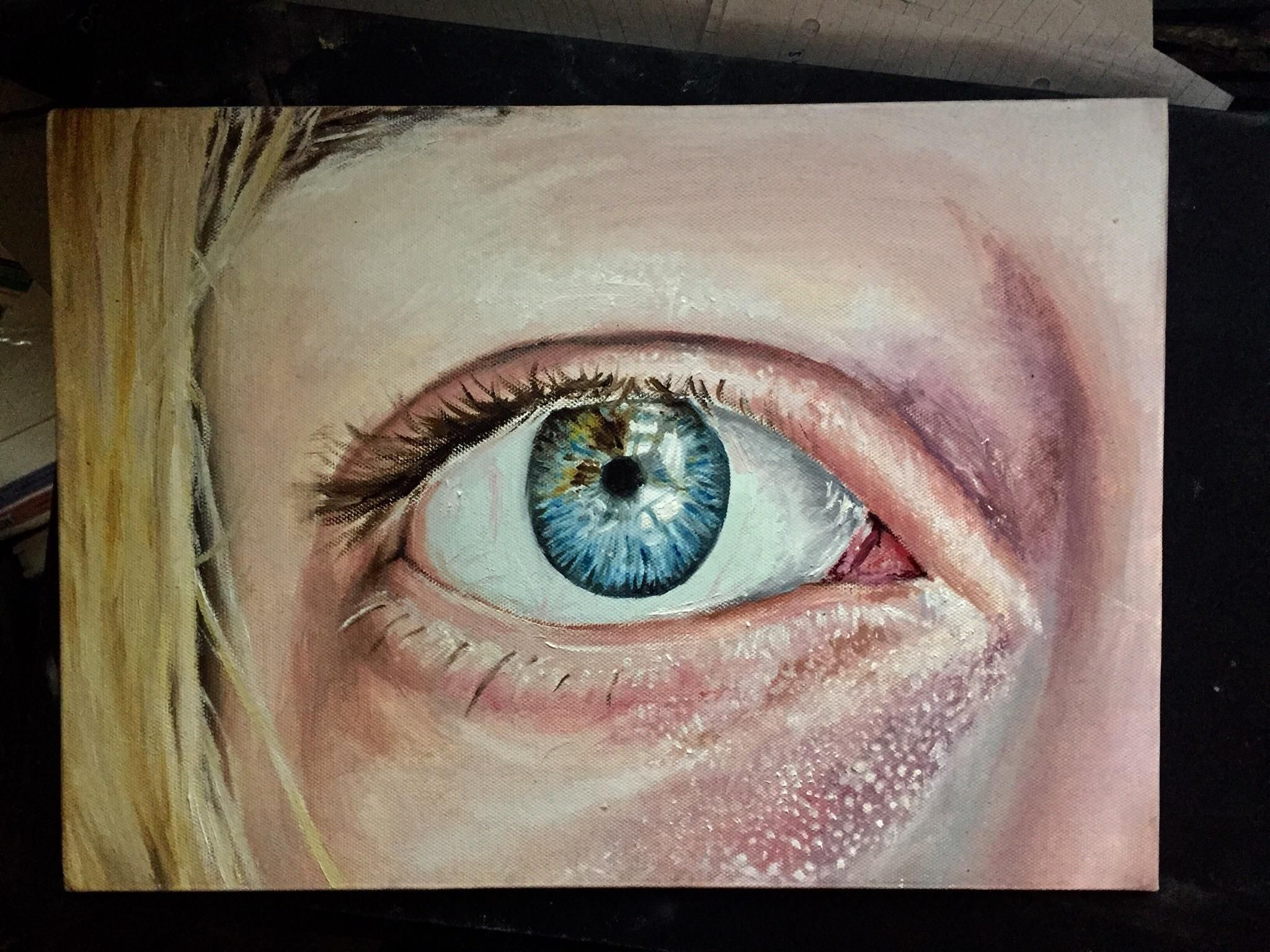 i cant tell if my oil painting is good or bad could i get some