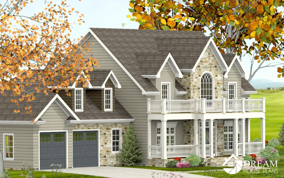 Simple Yet Luxury Southern House Plan Custom Options Like A Walkout Basement Wrap Around Porch Mediterranean Homes Bungalow House Plans Southern House Plans