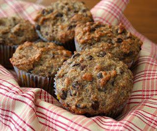 Banana Flax Chocolate Chip Muffins (Gluten-Free)