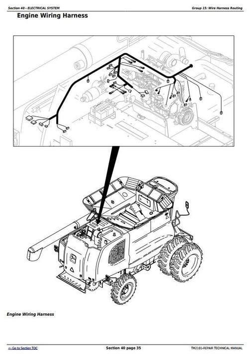 Jhon Deer 9650 Sts   9750 Combines Service Repair Manual  U2013 Jhon Deere