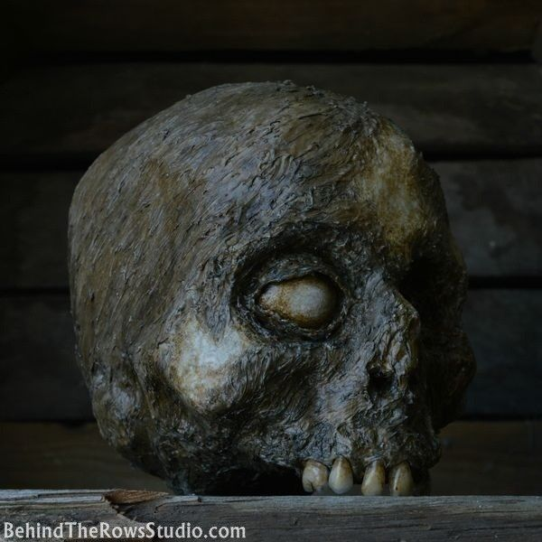 Amazingly Creepy Skulls for sale by Behind the Rows Studios Get - skull halloween decorations