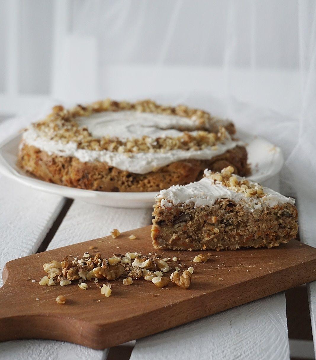 Healthy Pineapple Carrot Cake (sugar free) Dessert