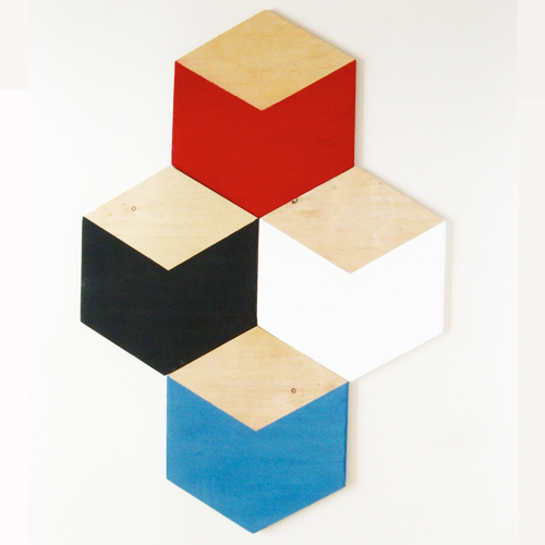 Hexagon Handmade Tiles Can Be Colour Coordinated And