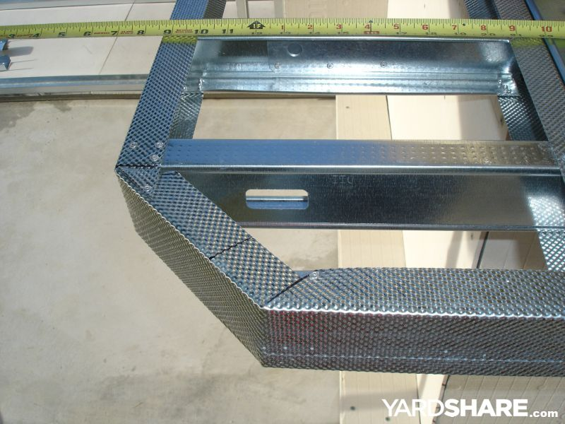 Steel Stud Framing Island Cantilevers Google Search Woodworking Joinery Steel Frame Steel