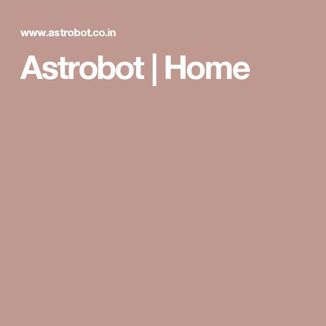Astrobot | Home