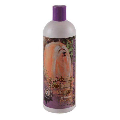 1 All Systems Super Cleaning And Conditioning Pet Shampoo 16 Ounce Pet Shampoo Cat Shampoo Conditioning Shampoo
