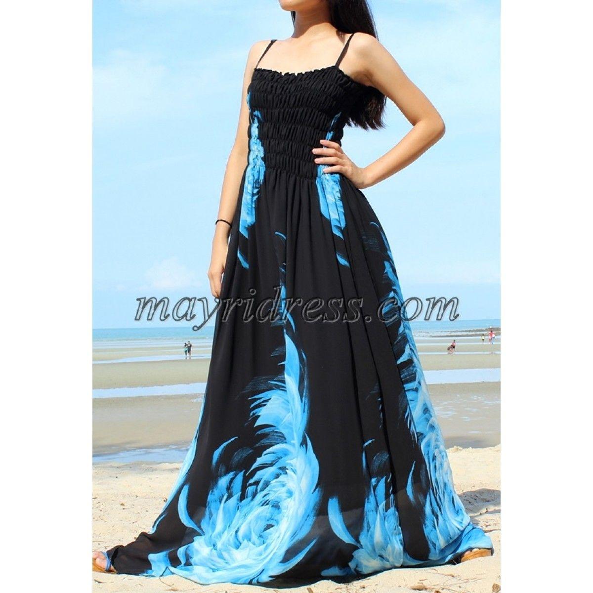 Black Maxi Dress Plus Size Dress Prom Dress Wedding Dress Summer ...