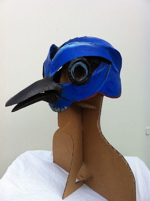 Presidio Bluebird Mask by Octodrone, via Flickr
