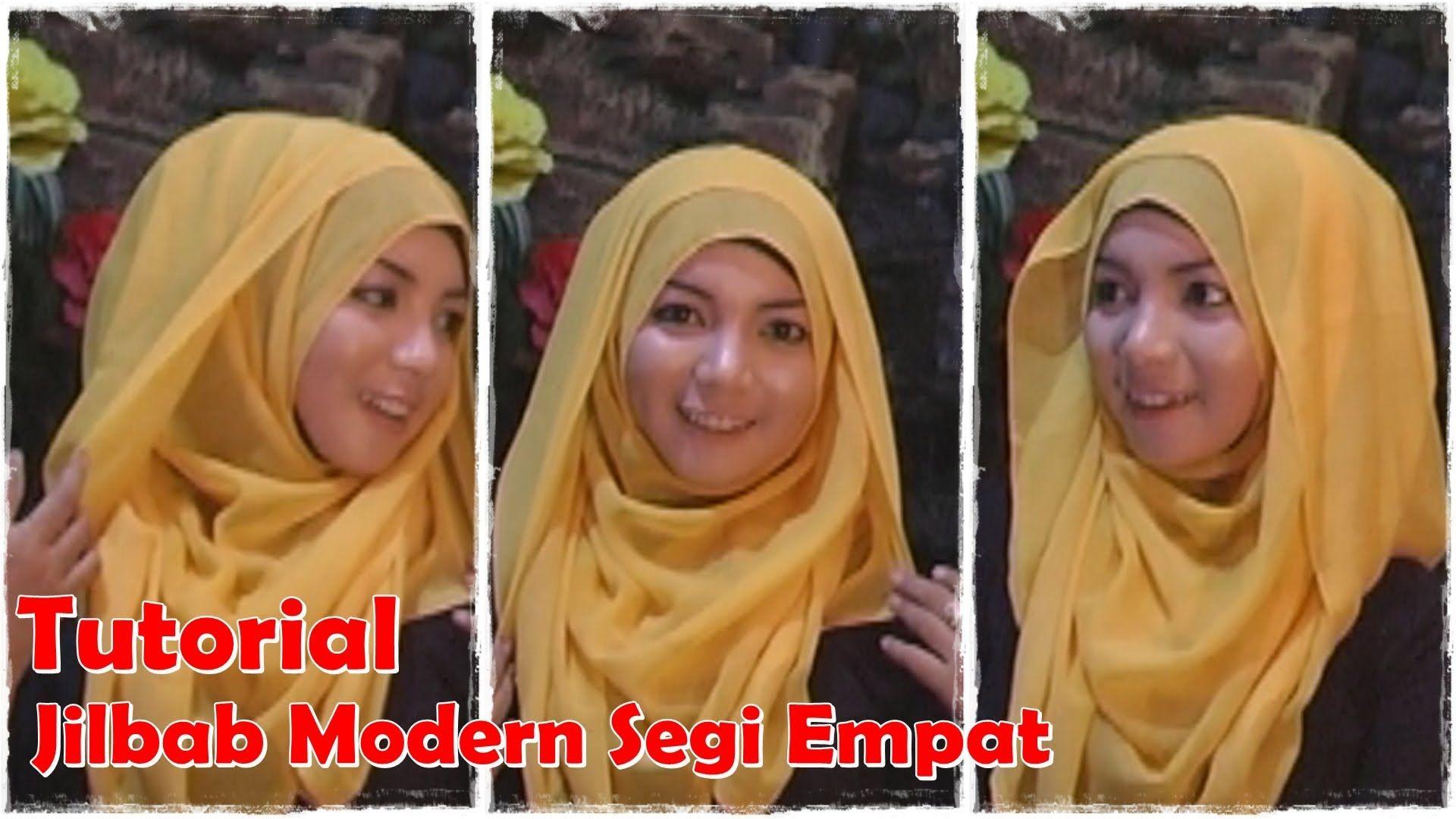 Video Cara Memakai Jilbab Segi Empat Modern By Revi Hijab