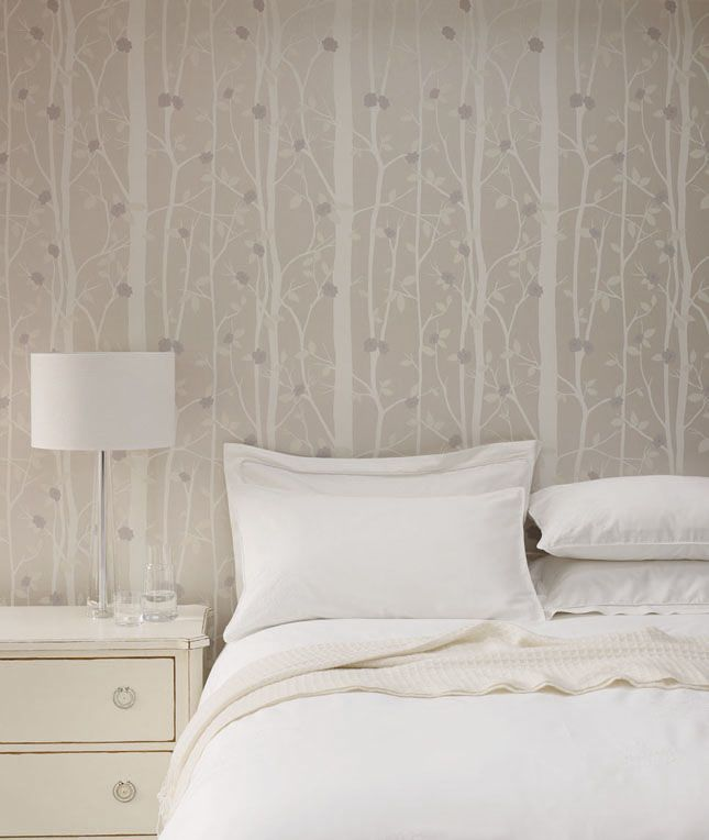 A relaxed retreat laura ashley cottonwood wallpaper for Cottonwood designs