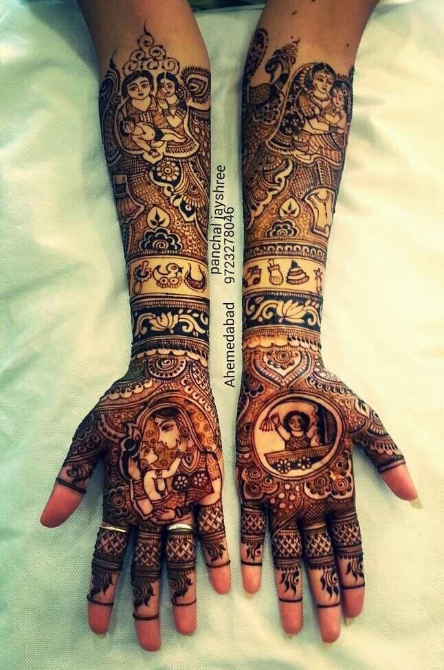 Baby shower henna