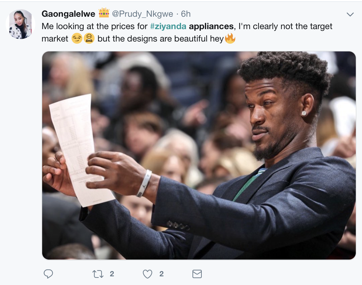 Ziyanda Appliances Twitter Responses That Made Us Laugh Destiny