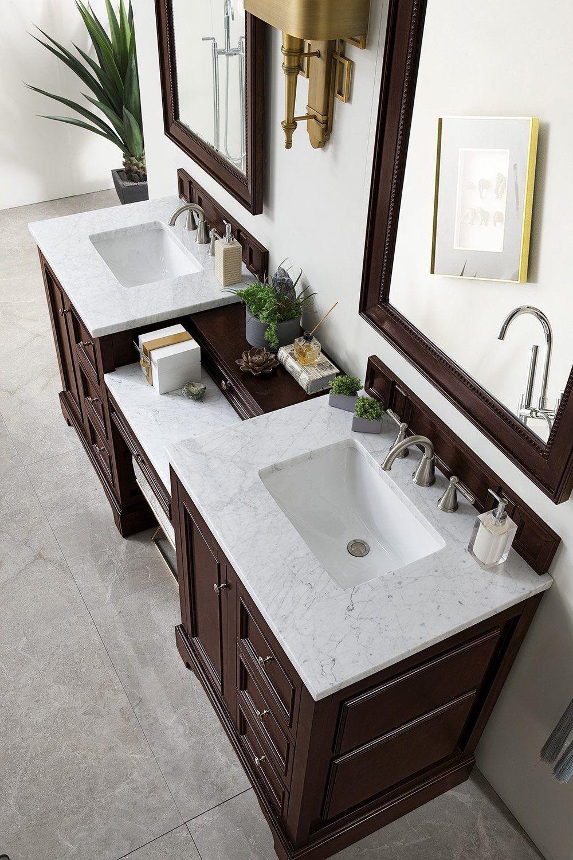 82 De Soto Burnished Mahogany Double Sink Bathroom Vanity Double Sink Bathroom Double Sink Bathroom Vanity Bathroom Sink Vanity [ 1500 x 1000 Pixel ]
