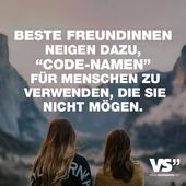 """Photo of Best friends tend to use """"code names"""" for people who …"""