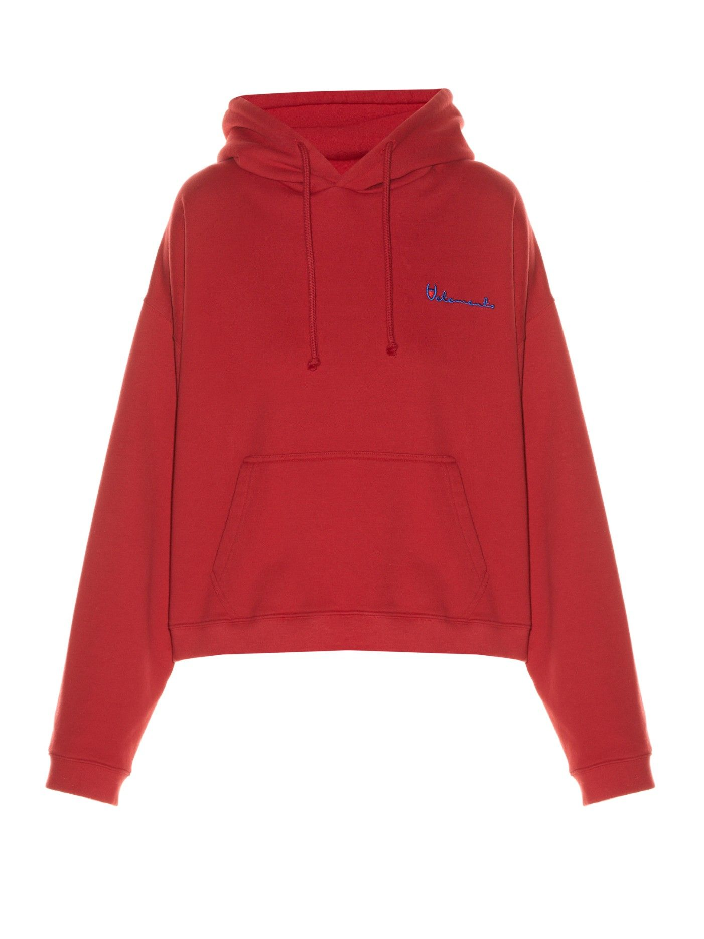 e9c056212cb9 Hooded logo-print sweatshirt