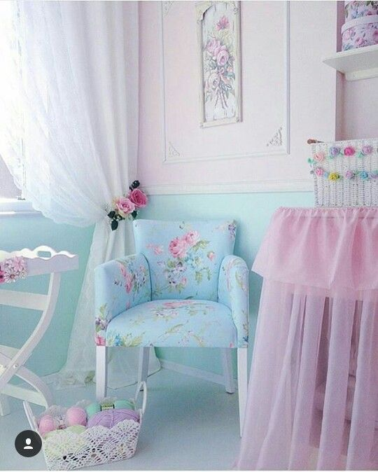 Vintage Shabby Chic Home Decor: Vintage Shabby Chic Home Decor Pastel Unicorn Color Pink