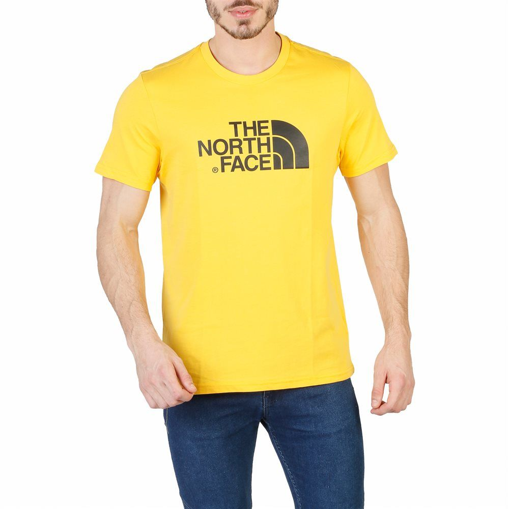 camiseta the north face amarilla