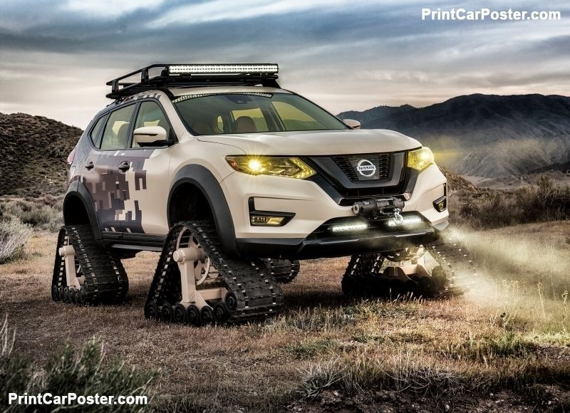 Nissan Rogue Trail Warrior Project Concept 2017 poster