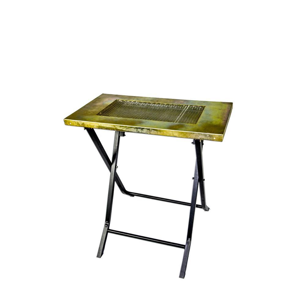 Metal Man Work Gear Co Steel Folding Welding Table Welding Table