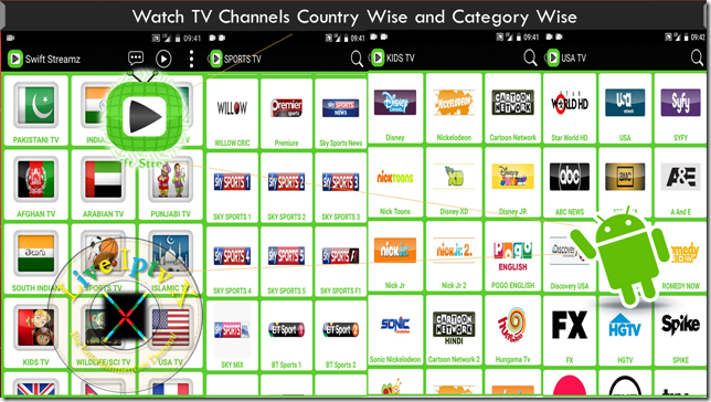 Watch TV Stream Online Swift Streamz Apk For Android