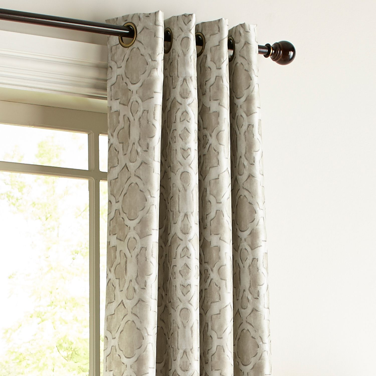 Mota Taupe 84 Grommet Blackout Curtain