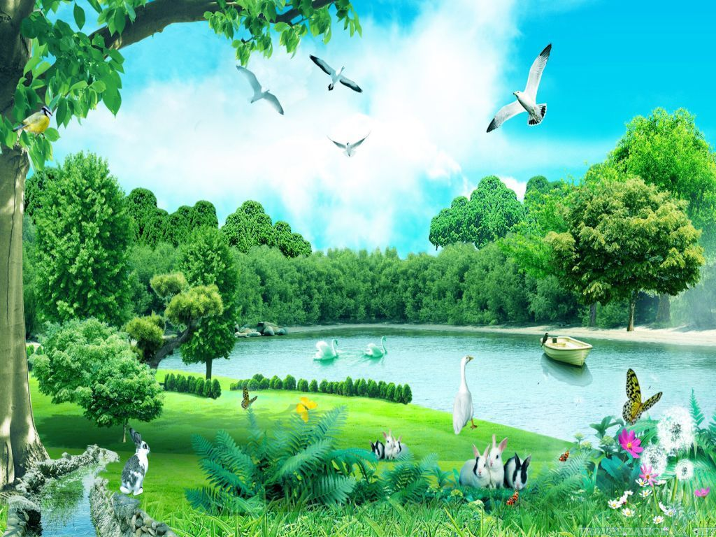Forest High Definition Wallpapers Free Page 1 Animal Wallpaper Nature Animals Beautiful Nature