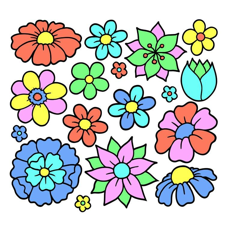 Pin by ani nati on Сумка   Colorful art, Coloring book app ...