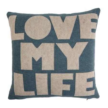 'Love My Life' Pillow.