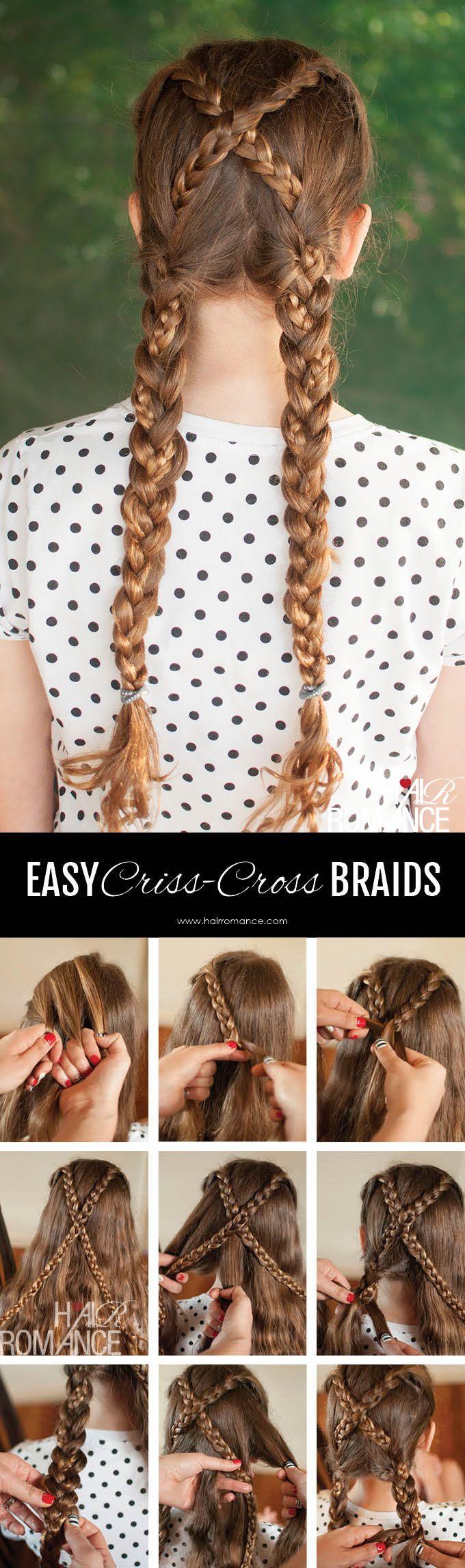 How to grow long healthy hair school hair braid hairstyles and