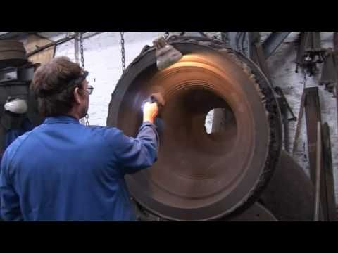 Ever wondered how a bell is moulded and cast? Here's your chance to watch the whole process, start to finish. Filmed at the Whitechapel Bell Foundry in London, England.
