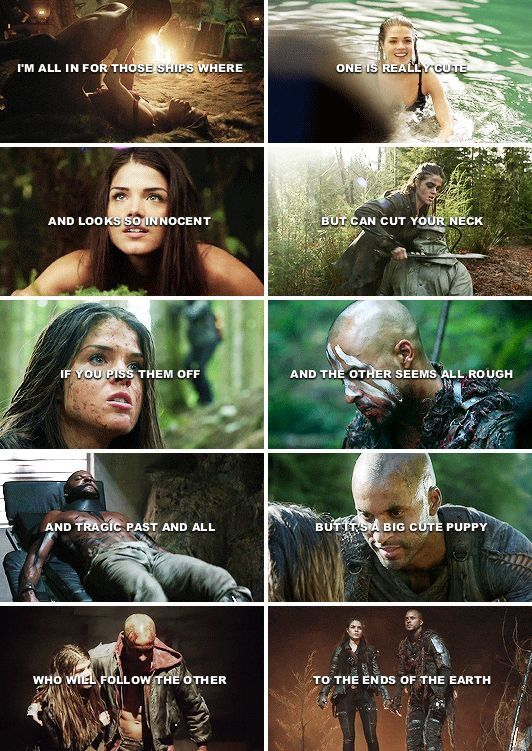 Pin By Mandi On The 100 The 100 Quotes Lincoln And Octavia The