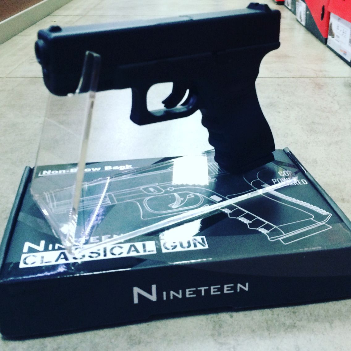New air-pistol at blades and triggers | Blades and triggers