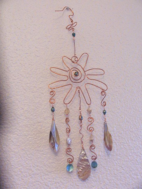 Windchime Wind Chimes Beads And Wire Windchimes Diy
