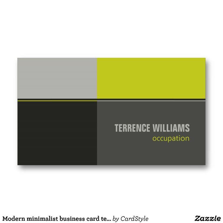 Stunning minimalist business card design pictures inspiration modern minimalist business card template lime grey design reheart Choice Image