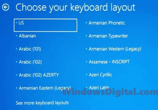 keyboard stuck on screen windows 10