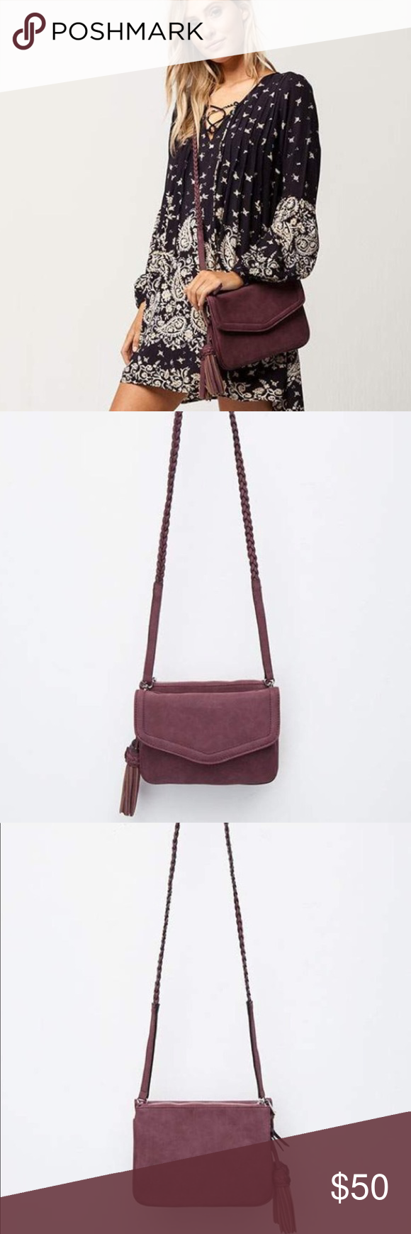 b1cad341848e Annette Braided Vegan Crossbody